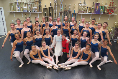 Photo by Marty Cheek Members of Lana's Dance Studio will perform 'The Nutcracker' Dec. 20 and 21 at Gavilan College in Gilroy.