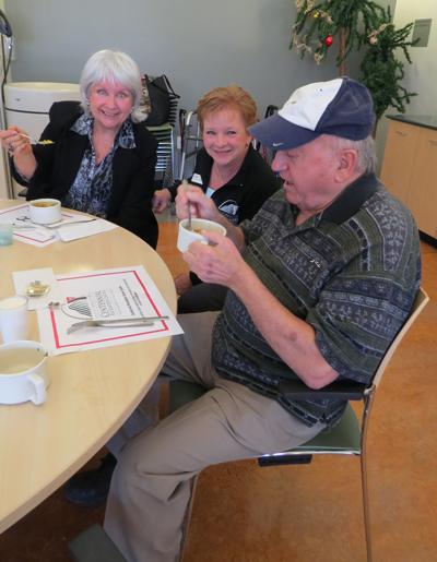 Sandra Morgan Hill Senior Cafe