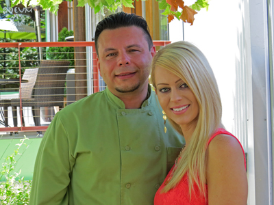 Odeum owners Salvatore Calisi and Ashley Polston have made Odeum a destination restaurant. Photo by Marty Cheek