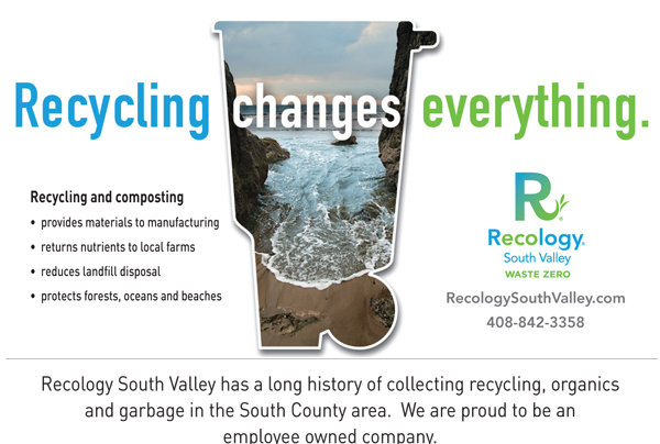 Recology ad for May 14, 2014 issue of Morgan Hill Life