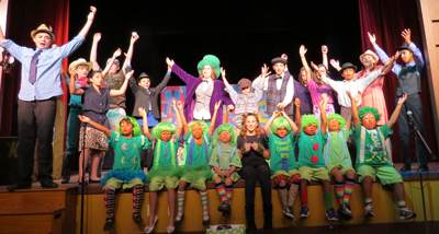 willy wonka stage musical script