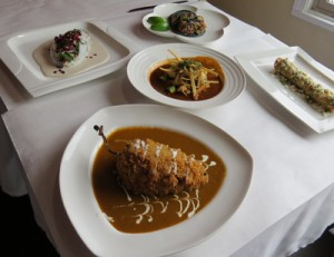 A few of the authentic Mexican dishes the professional chef cooks up. Photo by Marty Cheek