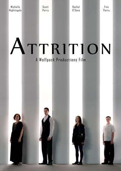 """Attrition"" poster, an Australian film at this year's Poppy Jasper Film Festival"