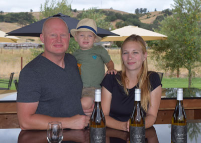 Family-run Lion Ranch Vineyards and Winery gives a nod to local history