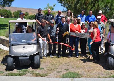 Ribbon Cutting— Coyote Valley Golf Club