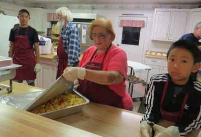 MH churches feed hungry during holidays and throughout the year