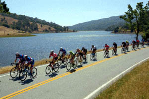 Morgan Hill file photo  Bicyclists ride through the back country of South Valley during last year's Spring Bike Classic.