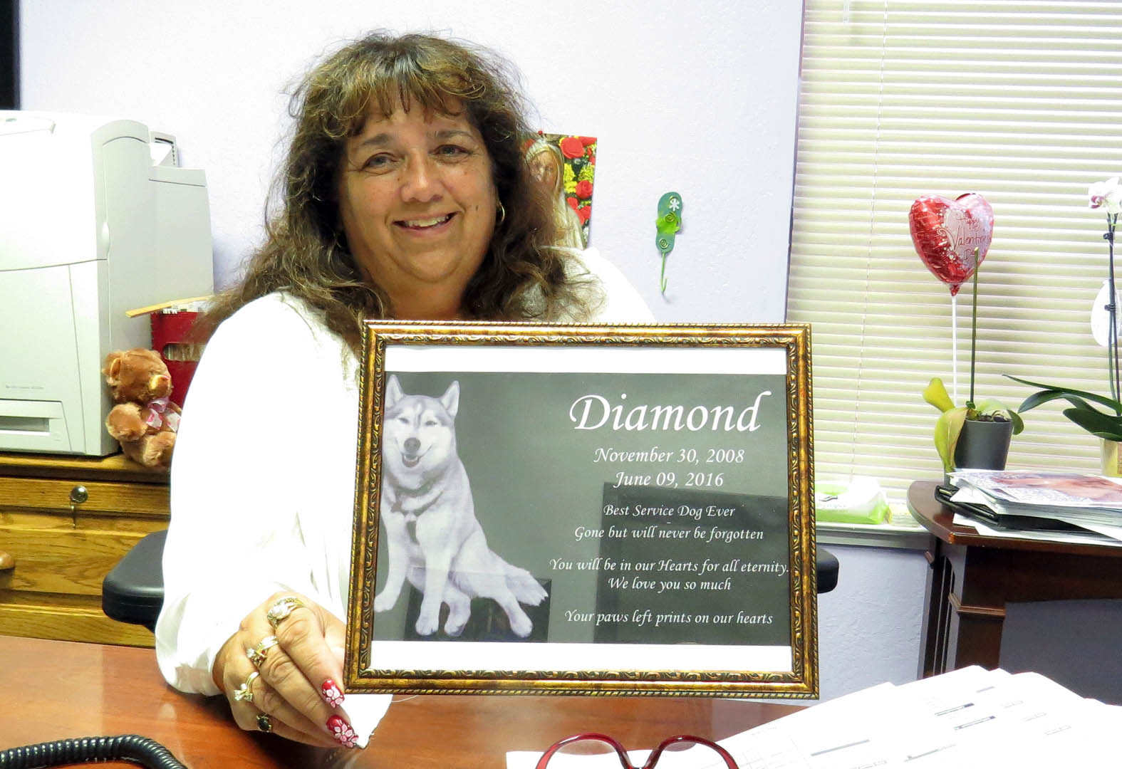Story: Community creates gofundme page after death of beloved service dog