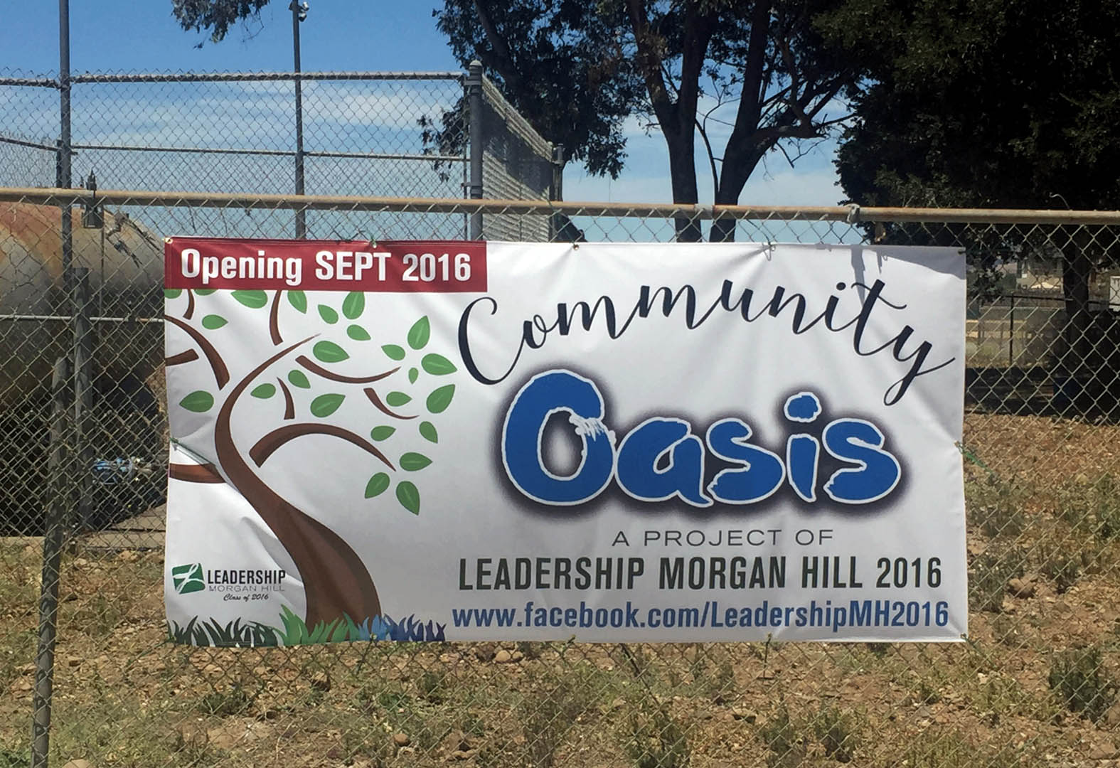 Leadership Morgan Hill project will beautify once dilapidated area