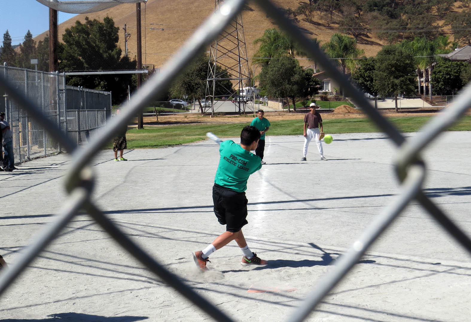 At-risk South Valley youth enjoy softball games and camaraderie