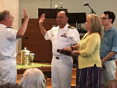 Profile: Morgan Hill pastor shares burdens with congregation and military personnel
