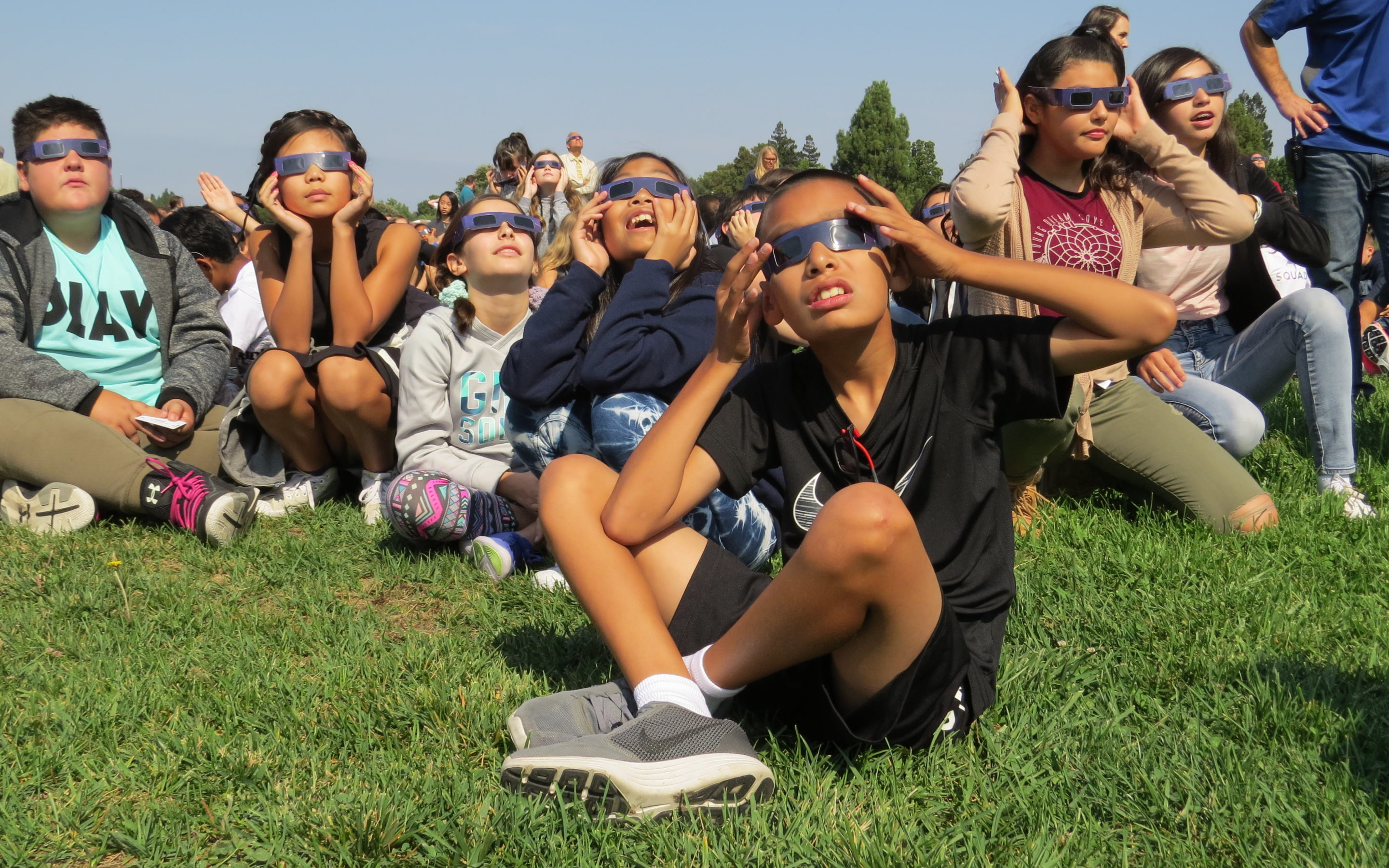 Main story: Solar eclipse awes students, provides great teaching moment