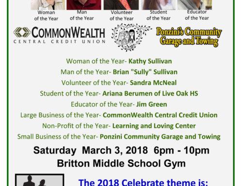 Morgan Hill Chamber of Commerce – Celebrate Morgan Hill Awards