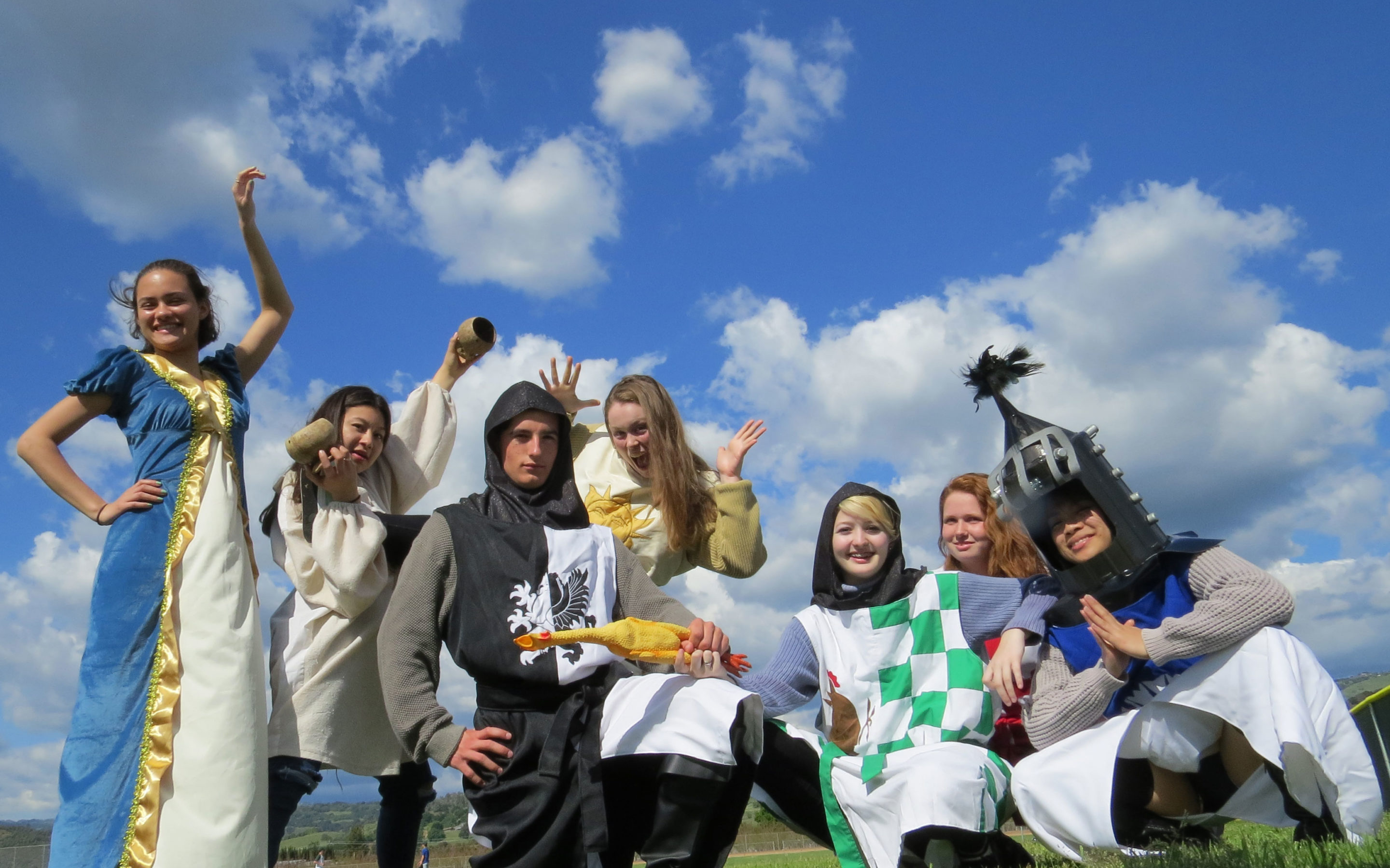 Main story – LOHS students perform hysterically funny Monty Python spoof