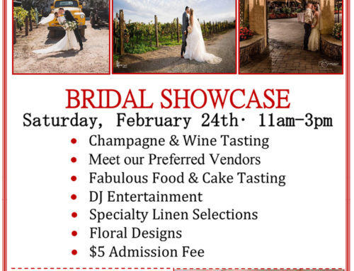 Guglielmo Winery – Bridal Showcase