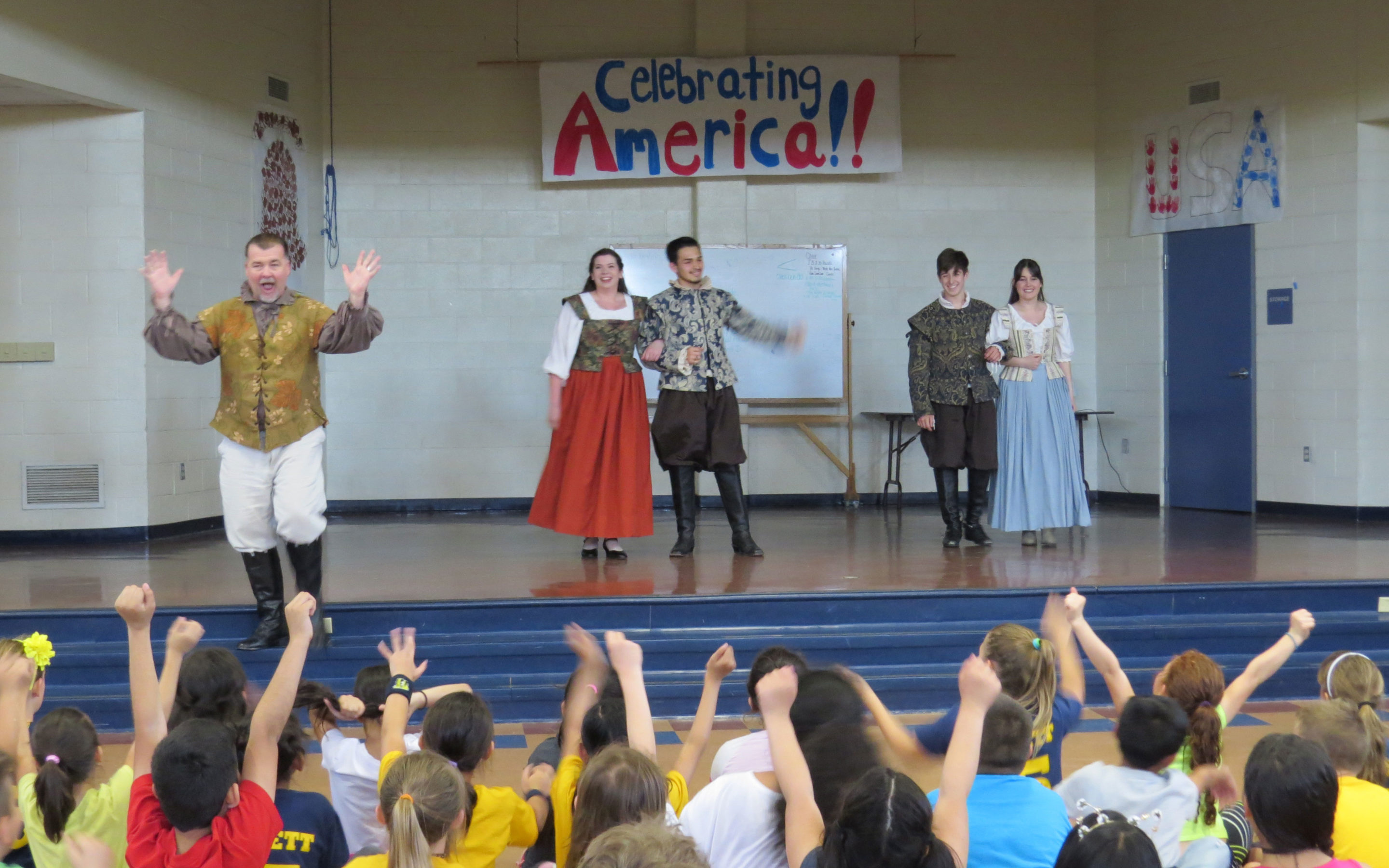 Main story – Gavilan actors introduce Shakespeare to Barrett students