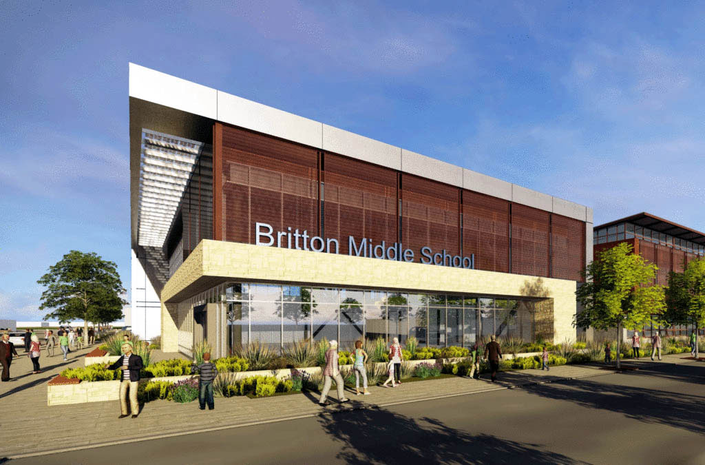 Main story – MHUSD breaks ground on Britton modernization project