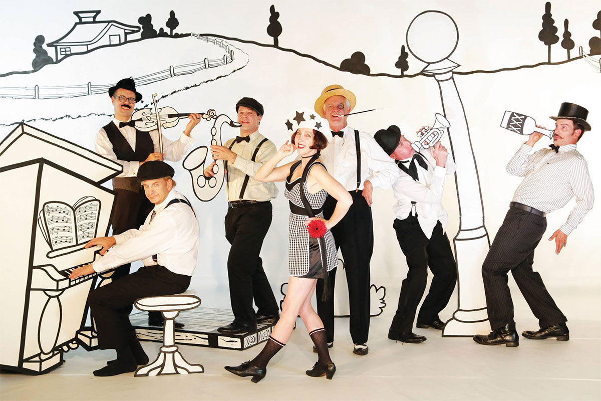 Entertainment – 1920s 'vintage band' from Los Angeles will entertain at Prohibition Party