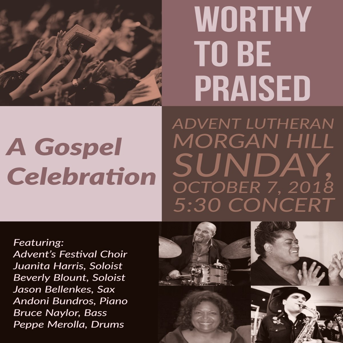 Worthy to be Praised: A Gospel Celebration