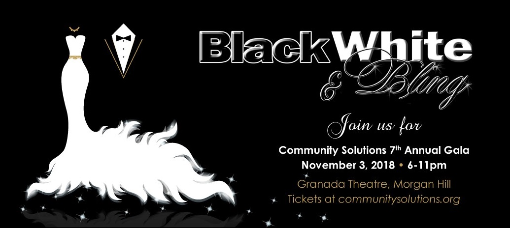 Black, White & Bling Gala