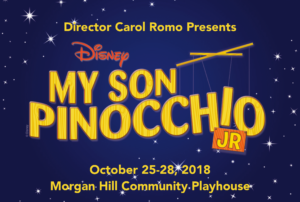 Disney's My Son Pinocchio JR @ Morgan Hill Community Playhouse | Morgan Hill | California | United States
