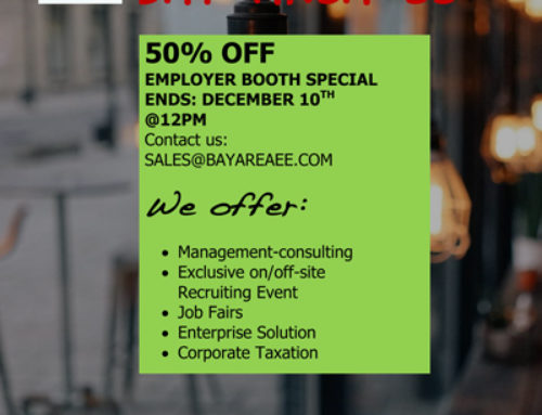 Bay Area EE: 50% Employer Booth Special