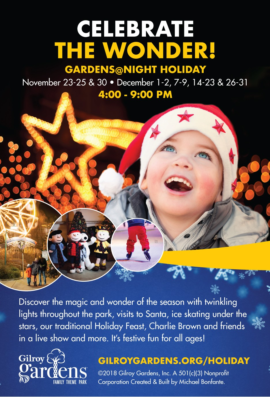 Celebrate The Wonder! Gardens@Night Holiday