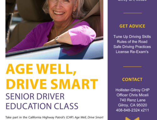 Free Class from CHP: Age Well, Drive Smart – Senior Drive Education