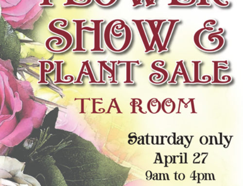 April 27: 94th Annual Flower Show & Plant Sale