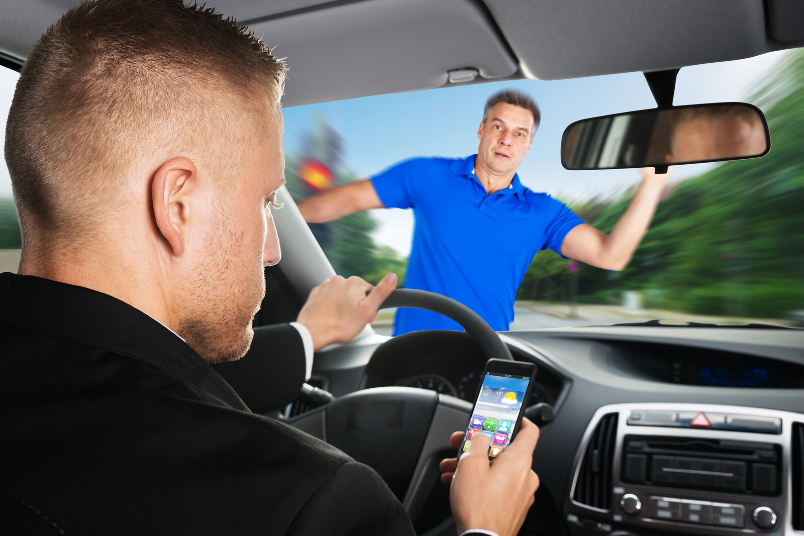 Image result for Distracted driver