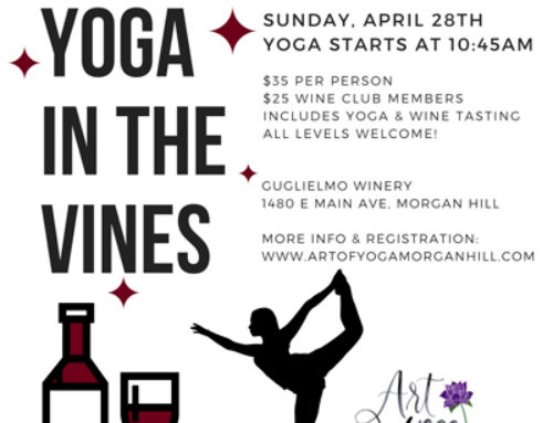 April 28 at Guglielmo Winery: Yoga in the Vines