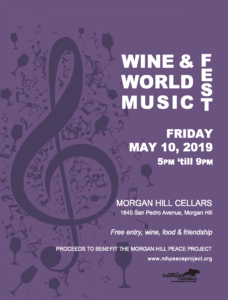 Wine & World Music FEST @ Morgan Hill Cellars | Morgan Hill | California | United States