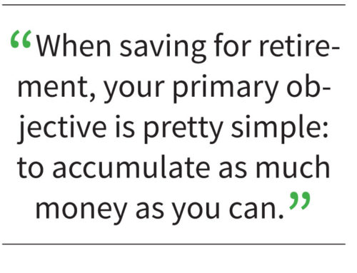 Your Retirement . . .with Marisa Otto: Vacation and retirement: Different goals require different strategies