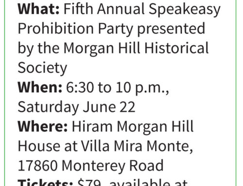 Nonprofit profile: Step back in time, celebrate end of Prohibition with Morgan Hill Historical Society