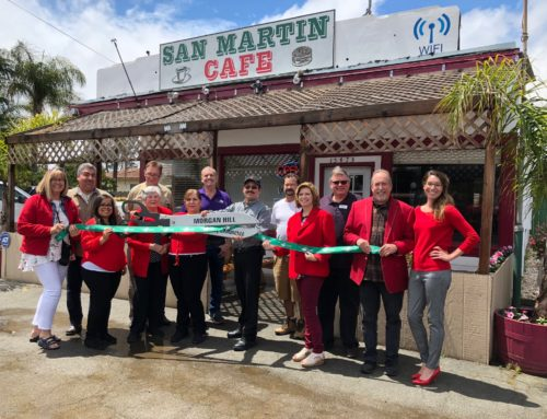 Ribbon Cutting — San Martin Cafe
