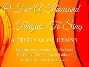 Hymn Festival @ Advent Lutheran Church | Morgan Hill | California | United States