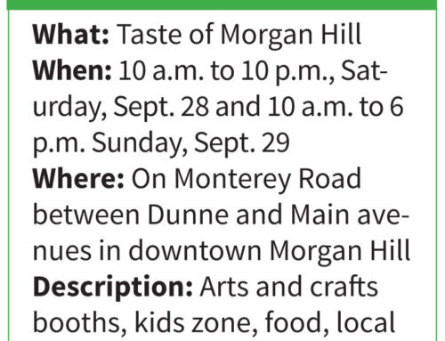 30th Annual Taste of Morgan Hill brings food fun to downtown