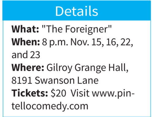 Curtains Up . . . with Camille Bounds: 'The Foreigner' is latest hilarious show at Pintello Comedy Theater