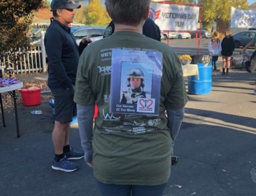 Community Voices by Lesley Miles: Veterans Day runners carry a veteran on their backs