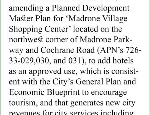 Measure A: Future of Madrone Village in the hands of voters