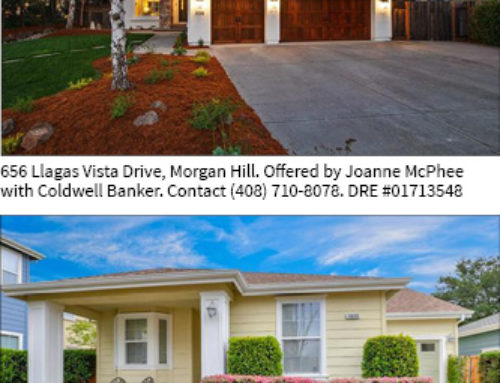 Homes of the Week — Llagas Vista Drive and Dickens Way