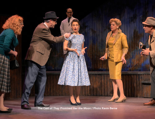 """Curtains Up Theater Review by Camille Bounds: """"They Promised Her The Moon"""" is asplendid experience"""