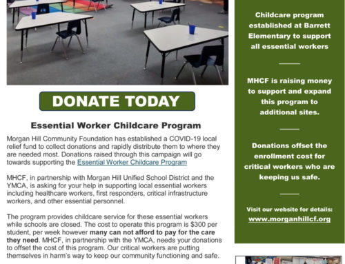 Donate to the Essential Workers Childcare Fund through the MHCF