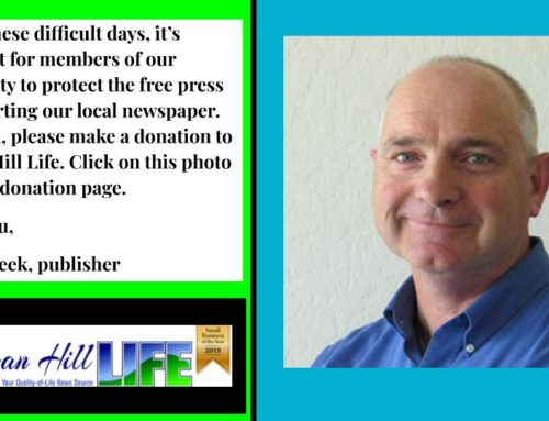 Support your local free press: Donate to Morgan Hill Life
