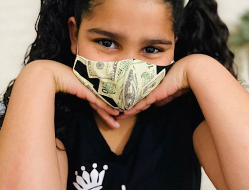 Gilroy-born girl does her part making face masks to keep public safe from coronavirus