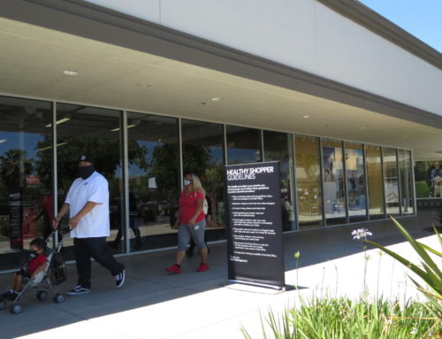 Shoppers return to Premium Outlets as stores begin to reopen