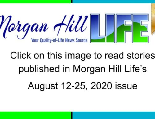 Archive: Published in the August 12 – 25, 2020 of Morgan Hill Life