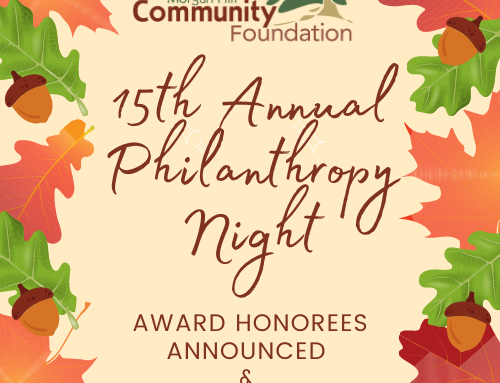 Morgan Hill Community Foundation celebrates the 2020 Philanthropy Award Honorees Nov. 13