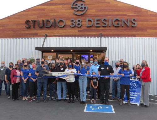 Photo op: Ribbon Cutting — Studio 38 Design