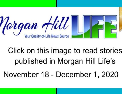 Archive: Stories published in the November 18 – December 1, 2020 issue of Morgan Hill